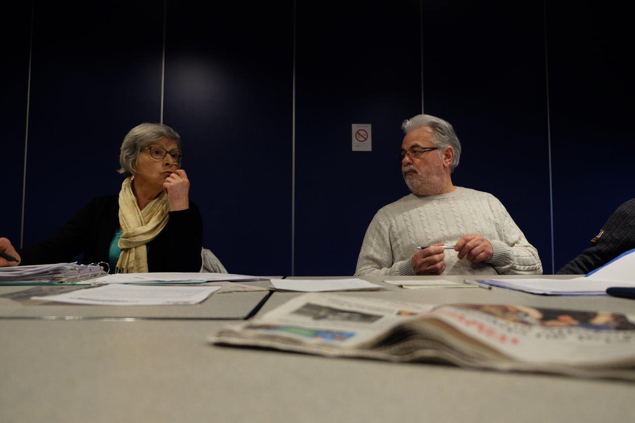 Martine Carn et Roger Héré. Photo pyb29
